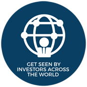 Get seen by investors around the world.