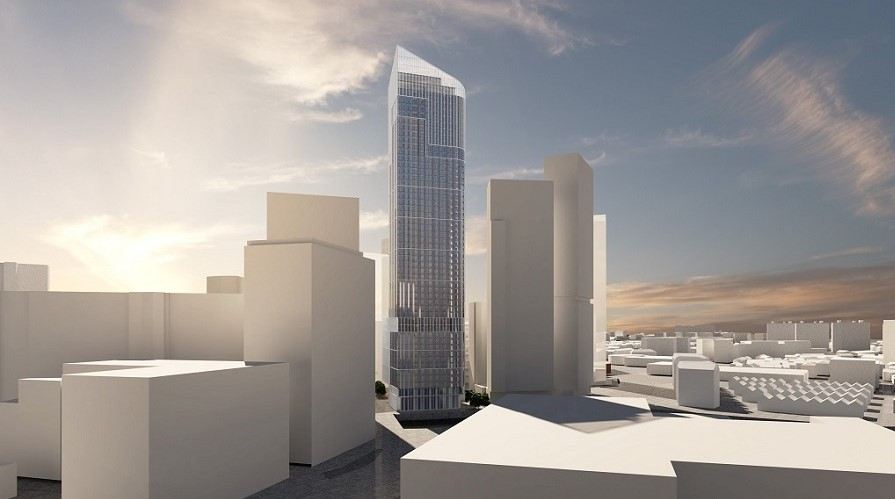 One Heritage Salford tallest tower