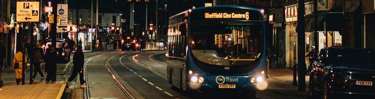Sheffield City Centre Bus