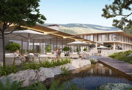 Planning Permission Has Been Granted For Afan Valley Adventure Resort In South Wales