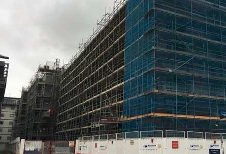 The Loom at Vulcan Mill, Manchester | April Construction Update