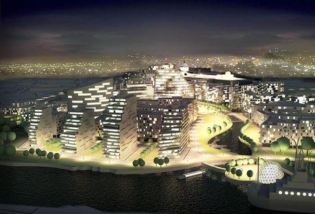 Trafford Waters - New Manchester Development Gets Green Light