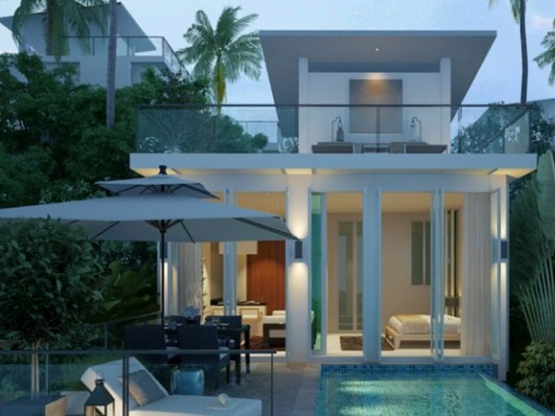 Luxury Detached 1 Bedroom Pool Villas