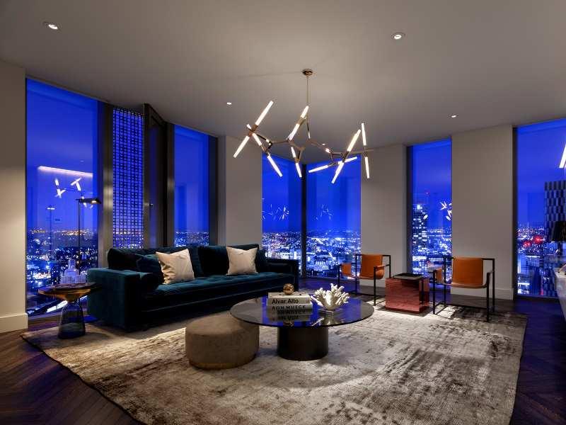 06 elizabeth tower manchester living room night 03