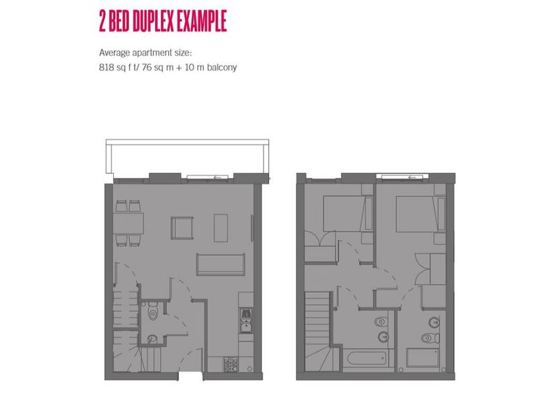 Two Bed Duplex