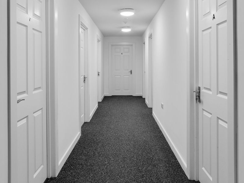 View of 6 Bed Cluster Hallways