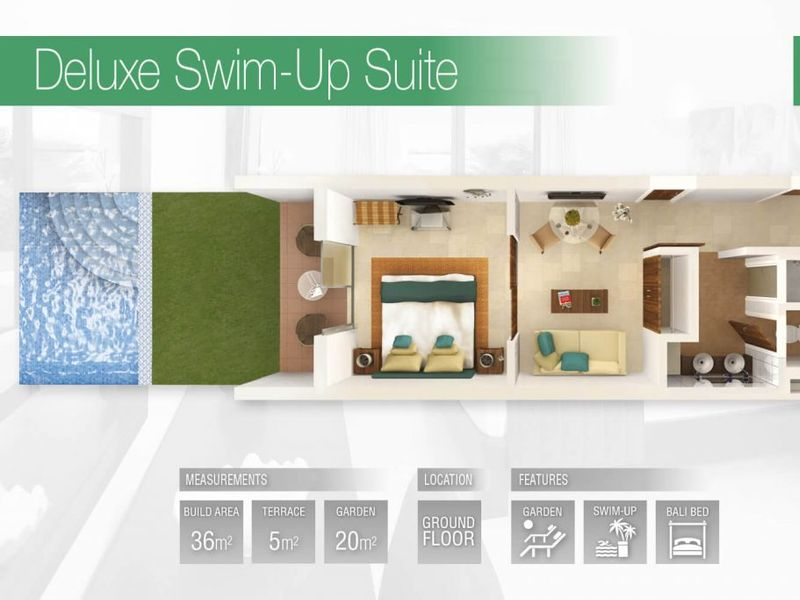 Deluxe Swim-up Suite (Fractional)
