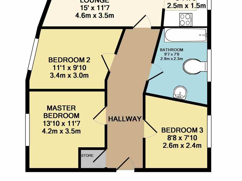 Three Bed Apartment