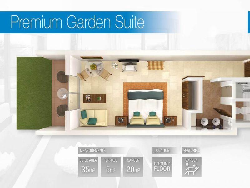 Premium Garden Suite (Fractional)