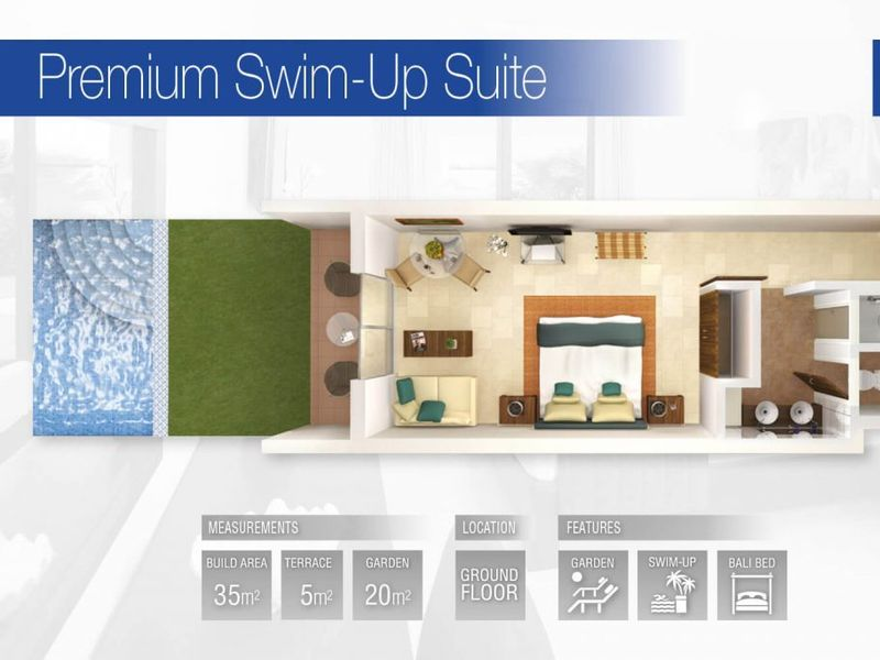 Premium Swim-up Suite (Fractional)