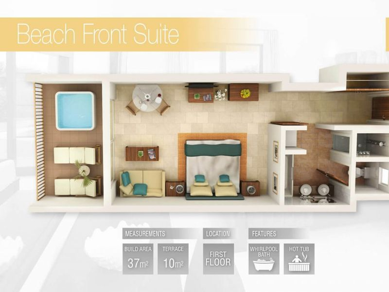Beach Front Suite (Fractional)