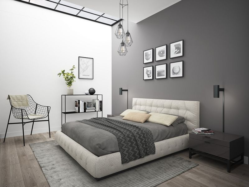 Manhattan bedroom CGI