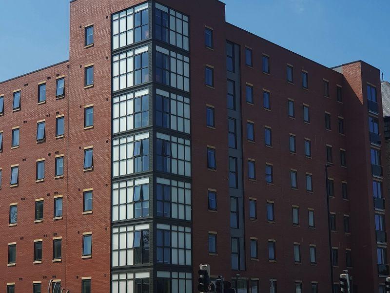 Metro Apartments external close