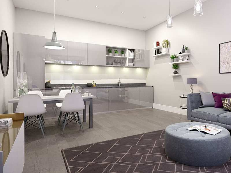 Middlewood Plaza living dining area 01