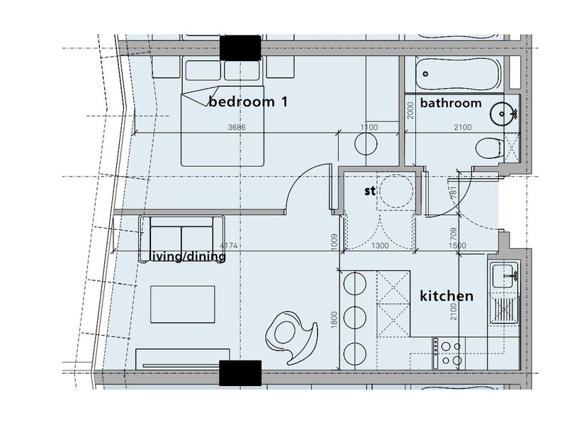One Bed Apartment