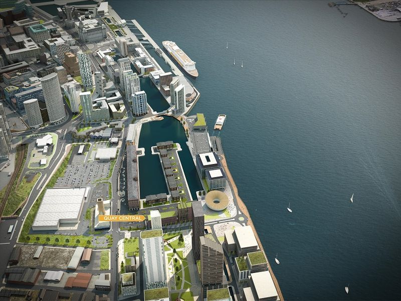 Quay Central aerial 01