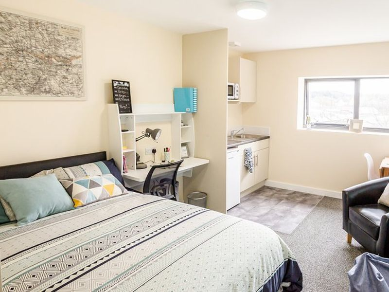 student studio apartments waterside quarter huddersfield