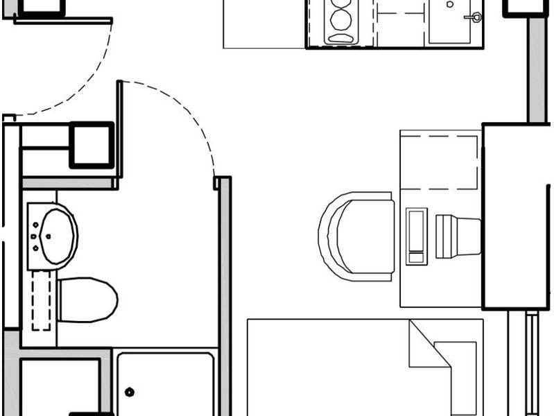 Single Studio Apartment