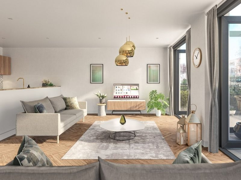 X1 South Bank Townhouse Example Lounge